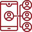red social media services icon | digital marketing services philadelphia | field1post.com