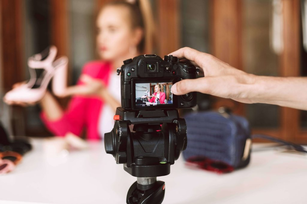 How to Create a YouTube Channel For Your Business | VIdeo Being Recorded | field1post.com